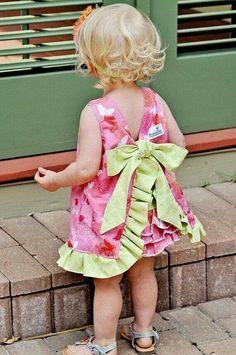 Adorable ♡ Love the Lime Green & Pink♡