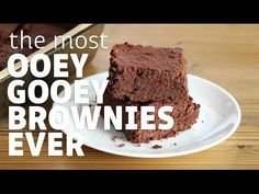 The Best Paleo Brownies (Chocolaty Goodness) | Paleo Grubs