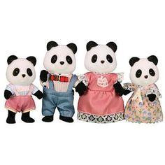 Sylvanian Families Panda-Familie