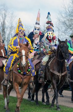 Church Point Courir de Mardi Gras, (rural Mardi Gras celebration). Photo by cajunzydecophotos