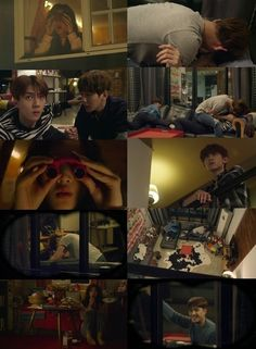 """""""EXO Next Door"""" receives over 5 million hits in under 12 hours. Baek's brilliant idea to spook her Hahaha, I loved how Sehun just went with it, n d.o he just so  cute to spoil all the fun"""