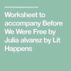 julia alvarez papi working Publications: nonfiction books, novels, books for young readers, and poetry by julia alvarez.