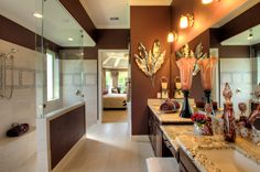 Elegant #decor is always lovely! #bathroom #design #ideas #interior #design