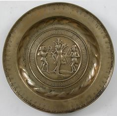 Plate Date: ca. 1500 Culture: German Medium: Brass Dimensions: Overall: 16 5/16 x 1 9/16 in. (41.5 x 4 cm)