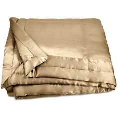 Donna Karan Home Reflection Gold Dust Full/Queen Silk Quilt (€450) ❤ liked on Polyvore featuring home, bed & bath, bedding, quilts, gold dust, modern bedding, silk bedding, gold bedding, donna karan bedding and silk bed linen
