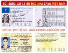 Đăng ký cấp đổi bằng lái xe Bồ Đào Nha sang Việt Nam cấp tốc. Hướng dẫn thủ tục chuyển đổi giấy phép lái xe Bồ Đào Nha sang Việt Nam qua mạng, giá rẻ.