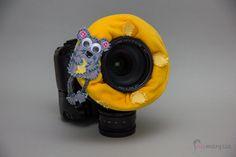 Camera Creatures, czyli opaski na obiektyw do fotografowania dzieci :)