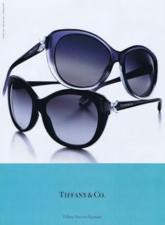 Tiffany & Co. Sunglasses If I was ever to actually be able to wear sunglasses!