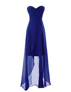 Diyouth Long Sweetheart Chiffon Bridesmaid Dresses Elegant High-low Evening Gowns Royal Blue Size 22W Diyouth http://www.amazon.com/dp/B00LQMRMIO/ref=cm_sw_r_pi_dp_Uy9wvb0Z1QY2Y