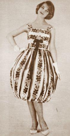 OĞUZ TOPOĞLU : claire comte 1959 yazlık elbise modelleri 2