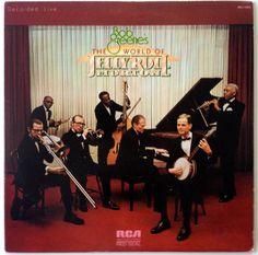 Bob Greene - The World Of Jelly Roll Morton LP Vinyl Record Album, RCA Red Seal - ARL1-0504, Jazz, Ragtime, 1974, Original Pressing