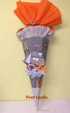 BASTELSET Schultüte von bastel-reni auf DaWanda.com
