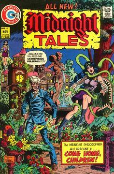 Midnight Tales, Charlton Comics.