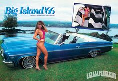 1966 Chevy Impala, Latina Models, Big Island, Bikinis, Swimwear, Low Rider, Jeeps, Magic, Cars