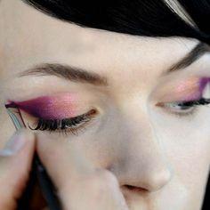 jeremy scott spring/summer 2014 eye makeup