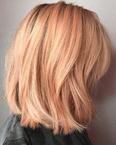 Peach Hair Color | Byrdie