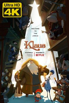 Rashida Jones & J. Simmons in First Trailer for 'Klaus' Animated Film Rashida Jones, Animes Online, Movies Online, Film Online, Movies To Watch, Good Movies, Klaus Movie, Films Hd, Old Disney