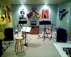 Guitar Babe further pushes that dream by making that music room into a recording studio. We visited a friend's home last year and jammed in their music room ...
