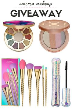 GIVEAWAY: Unicorn Makeup Set by Tarte