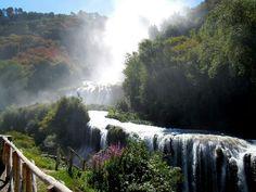 Italy, Umbria, cascata delle Marmore
