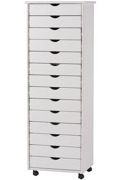 STANTON 14-DRAWER WIDE STORAGE CART $379 Perfect for makeup!