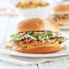 Cowboy Boots & Baby Booties: Grilled Sriracha Chicken Sandwiches w/Broccoli Radish Cilantro Slaw Slaw Recipes, Lunch Recipes, Cooking Recipes, Healthy Recipes, Grill Recipes, Watermelon Salad Recipes, Creamy Pesto Pasta, Grilled Chicken Sandwiches, Sriracha Chicken