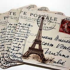 We LOVE these Paris coasters. Who wouldn't want to set their glass of vin on these? (Thanks for pinning,
