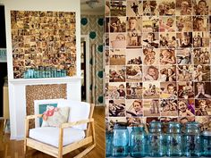 diy {wall photo collage}