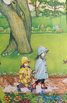 """Rainy Day"" by Eloise Wilkin"