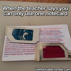 Do some teachers actually say that...??? I don't know but either way, this is funny