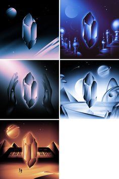 Album cover art by Victor Moatti