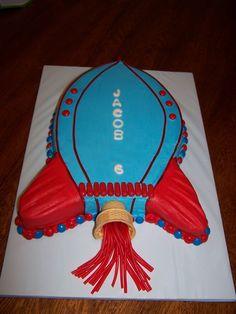 Rocket Birthday Cake — Cakes
