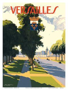 Versailles, France Art Print