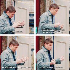 #Supernatural » #SPN » This is how Dean prays.