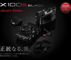 E um X100S PRETO Limited Edition legítimo, preto.