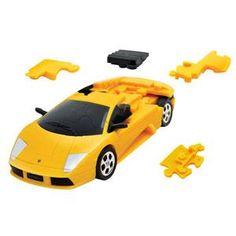 Lamborghini Murciélago : Geel speelgoed van Eureka online kopen - speelgoed bestellen 3D puzzel voor 8 jaar en ouder bij Cocodrilo