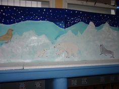 le pôle nord