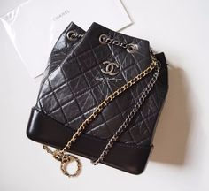 New Chanel  gabrielle backpack with black   Clothing, Shoes & Accessories, Women's Handbags & Bags, Handbags & Purses   eBay!
