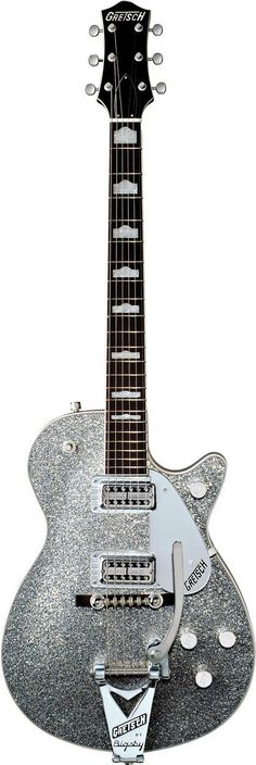 Gretsch G6129T Silver Sparkle Jet  Can I have this? I have 4 acoustics and 2 electrics plus 2 pianos and an alto saxophone. I want this guitar thoooo