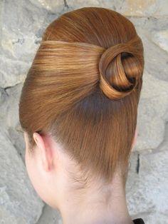 Как сделать бабетту. — Сообщество парикмахеров