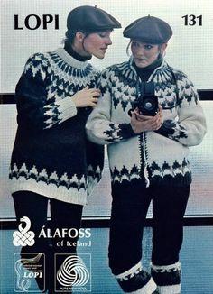 Mynd af www. Icelandic Sweaters, Warm Sweaters, Sweaters For Women, Nordic Sweater, Men Sweater, Knitting Designs, Knitting Patterns, Fair Isle Knitting, Sweater Design