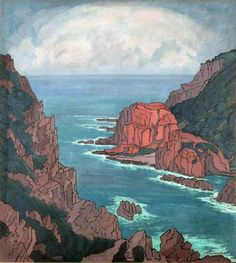Pierneef painting of South Africa's South Coast Africa Drawing, South Africa Art, Urbane Kunst, South African Artists, Bee Art, Water Art, Minimalist Art, Viera, Urban Art