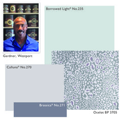 Scheme by Gardner, Westport Showroom  For children's rooms it's a good idea to consider using colours that will transition well into their early teens.  I've chosen Borrowed Light for the walls in Estate Eggshell, this 20% sheen  Modern Emulsion Colour Consultancy - Colour Schemes for Children's Rooms