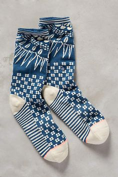 Opehlia Socks - anthropologie.com