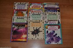 Eyes on Nature, Eyes on Adventure, Eyes on America Lot of 13 Books, Homeschool,