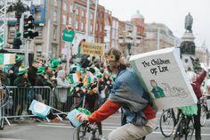 St Patrick's Day in Dublin, St. St Patricks Day, Dublin, Highlights, Saints, Street View, Children, Young Children, Kids, Highlight