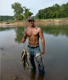 Hot men who can fish. Thats my guy!