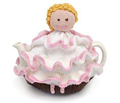 Frilly Lily tea cosy