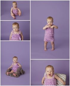 Captured by Kay Photography Weyburn, SK 1 Year Photos, Purple Lace, Photographing Babies, Orchids, Baby, Photography, Photograph, Purple Ribbon, Fotografie