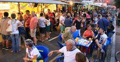 La noche recupera la calma tras el primer sábado masivo de las fiestas del Carmen
